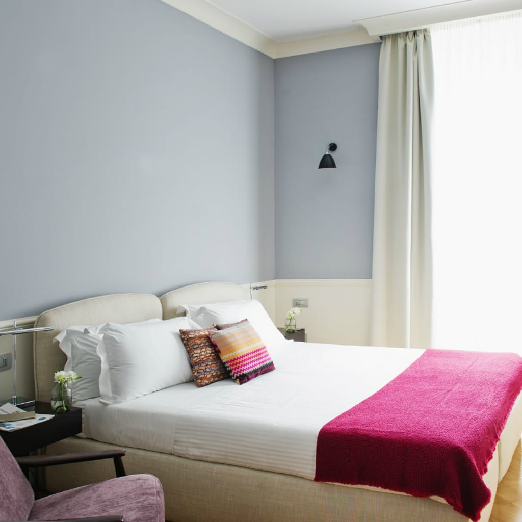 The Fifteen Keys Hotel - Superior Grey Room in Rome